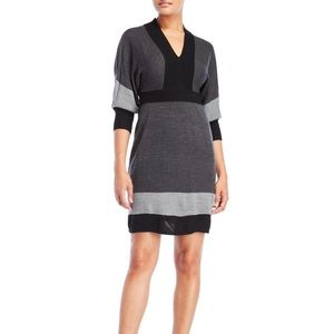 Connected Apparel - BLACK Dolman Sleeve Dress